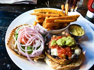 hamburger - constipation abdominal pain
