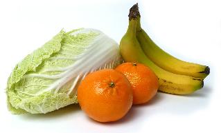 fruites and veggies - constipation diet